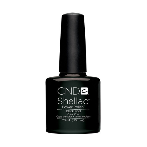 Shellac Black Pool 7.3ml (0.25 floz)