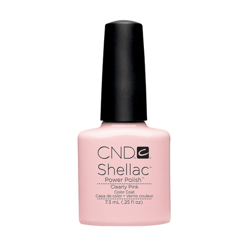 Shellac Clearly Pink 7.3ml (0.25 floz)
