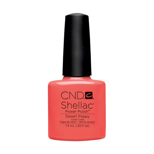 Shellac Desert Poppy 7.3ml (0.25 floz)