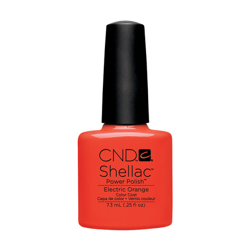 Shellac Electric Orange 7.3ml (0.25 floz)