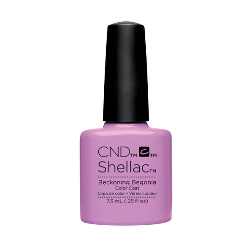 Shellac Beckoning Begonia 7.3ml (0.25 floz)