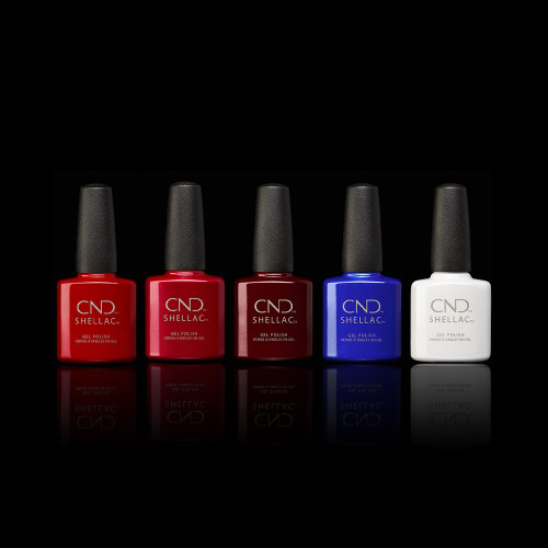 Full Shellac Iconic Shades Collection