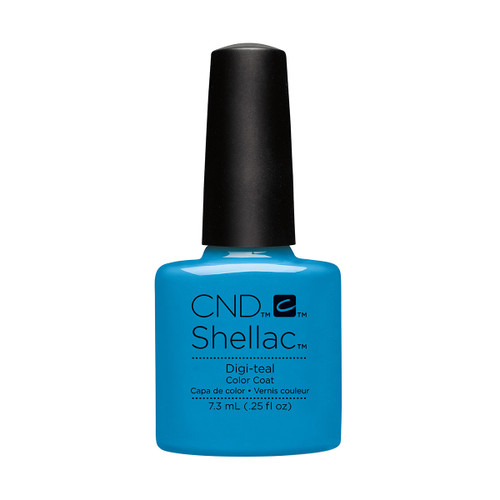 Shellac Digi-Teal 7.3ml (0.25 floz)