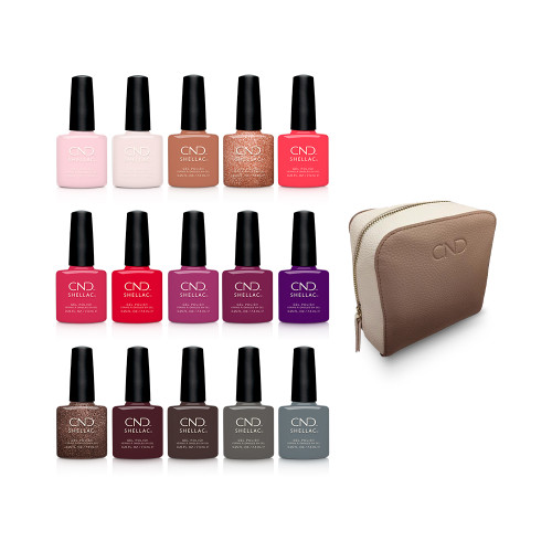 CND Shellac 15 Exclusive Shades Collection