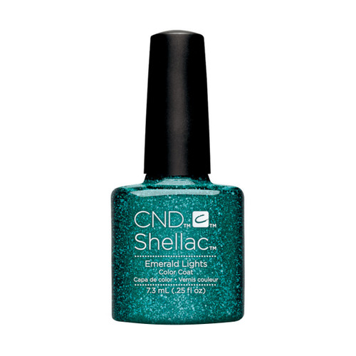 Shellac Emerald Lights  - 0.25 floz (7.3 ml)