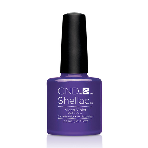 Shellac Video Violet  - 0.25 floz (7.3 ml)