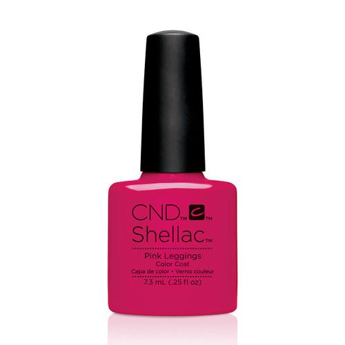 CND Shellac Pink Leggings