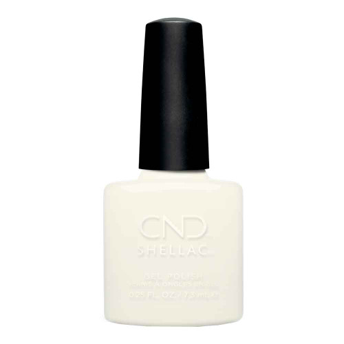 CND Shellac White Wedding