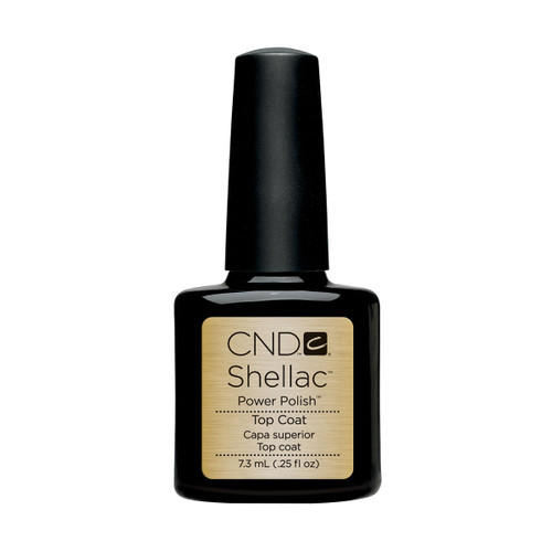 Shellac UV Top Coat 7.3ml (0.25 floz)