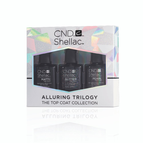 Alluring Trilogy Top Coat Trio (Save Over 30%)