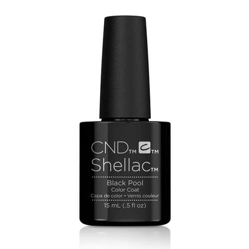 Jumbo Shellac Black Pool 15ml