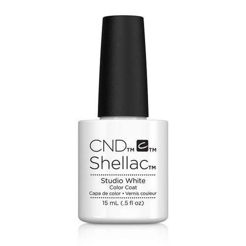 CND Jumbo Shellac Studio White