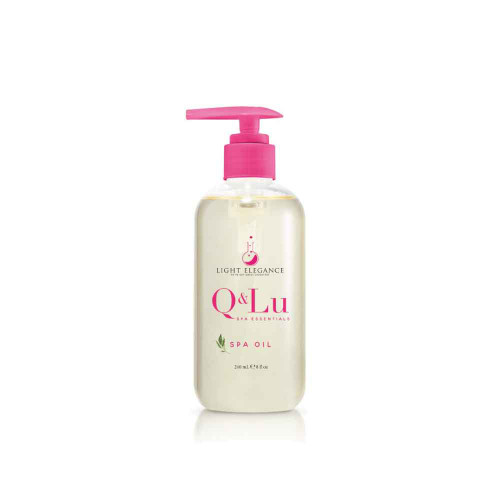 LE Q&Lu Spa Oil 237ml (8 oz)