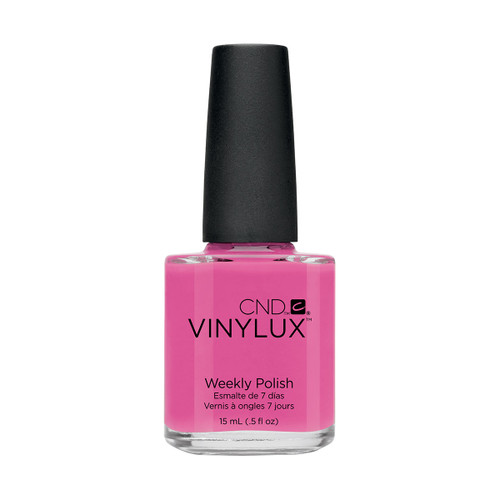 Vinylux #121 Hot Pop Pink 0.5oz
