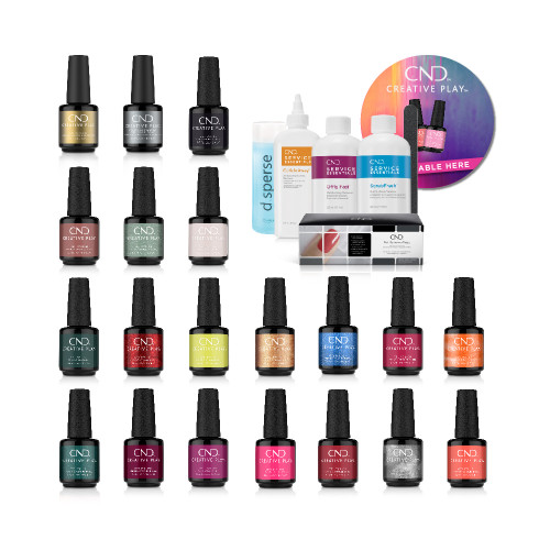 Creative Play Gel Colour Kit with Pep Essentials