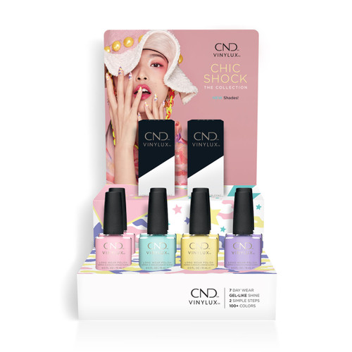 Vinylux Chic Shock Pop Display