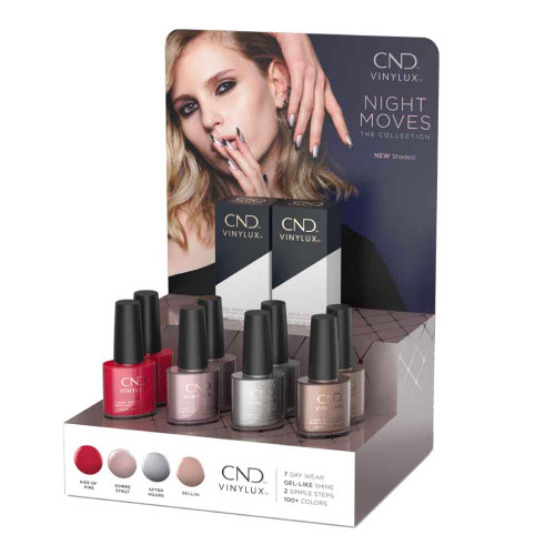 Vinylux Night Moves Pop Display