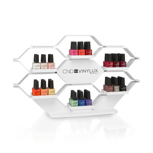 CND Vinylux Counter Rack (3 Deep) 2017