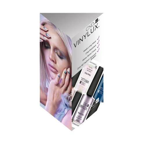 Vinylux 3 Sided Display