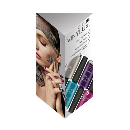 Vinylux 3 Sided Display - Large (Design 2 - Locke) Sept 2017