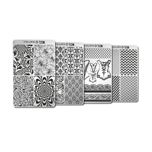 Sascha No.7 Stamping Plates