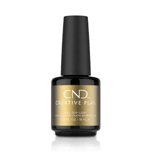 Creative Play Gel Top Coat 15ml