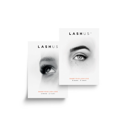 LASHUS Extensions A3 Double Sided Poster