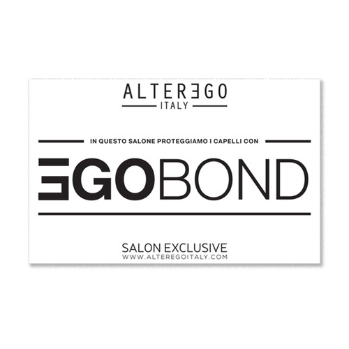 Ego Bond Window Sticker