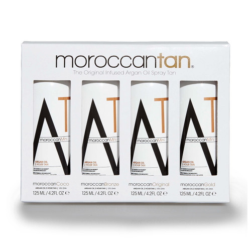 MoroccanTan Original Collection Sample Pack 4 x 125ml