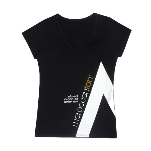 MoroccanTan T-Shirt Black Small