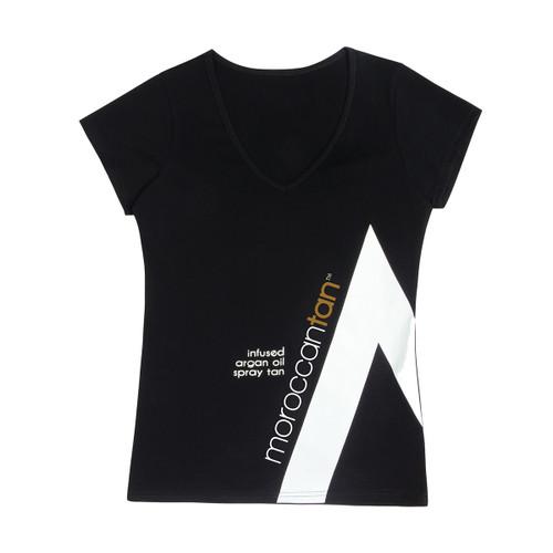 MoroccanTan T-Shirt Black Medium