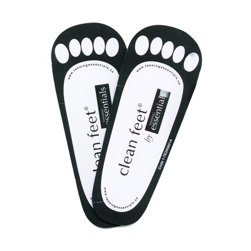 Clean Feet - Cardboard - 25 Pack