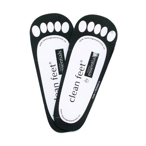 Clean Feet - Cardboard - 25 Pack