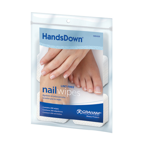 HandsDown Nail Wipes (200pk)