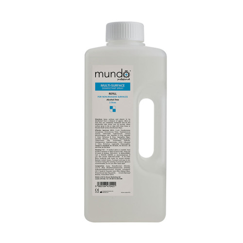 Mundo Multi Surface Disinfectant Spray Refill 2 Litre