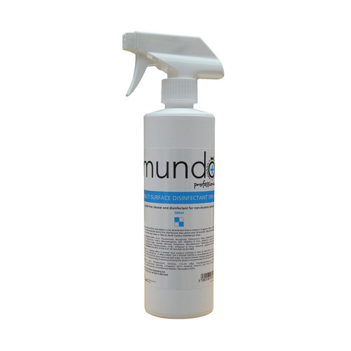 Mundo Multi Surface Disinfectant Spray 500ml