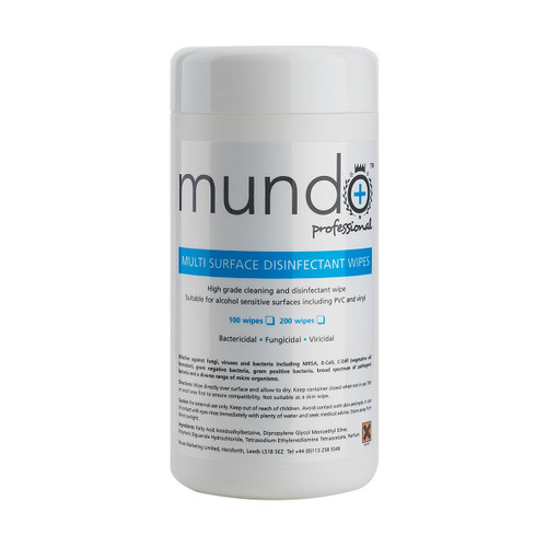 Mundo Multi-Surface Disinfectant Wipes [100]