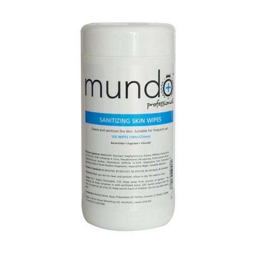 Mundo Sanitizing Skin Wipes
