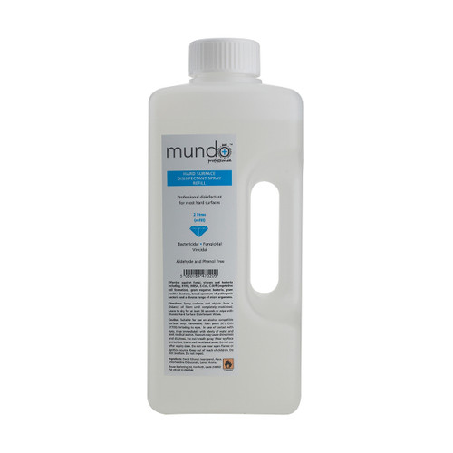 Mundo Hard Surface Disinfectant Spray Refill (2000ml)