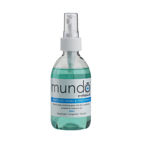 Mundo Sanitising Hand & Foot Spray (250ml)