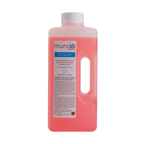 Mundo Foot Spa & Pedi Bowl Disinfectant (2000ml)