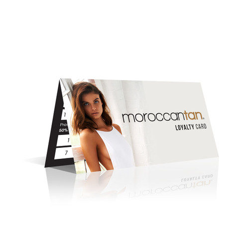 MoroccanTan Loyalty Cards (100 pk)