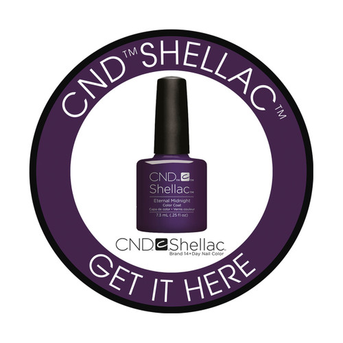 Shellac Window Cling