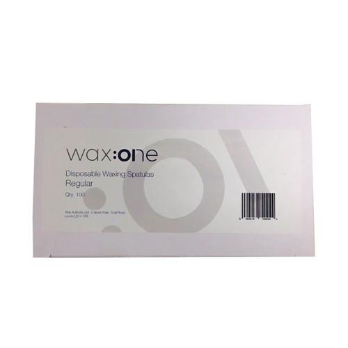 wax:one Spatulas Regular 100 Pack