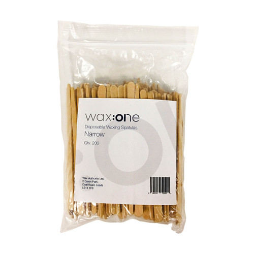 wax:one Spatulas Narrow 200 Pack