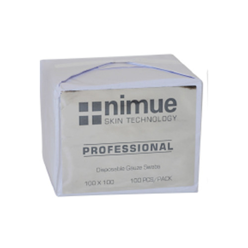 Nimue Gauze Swabs x 100 (100mmx100mm)with Label