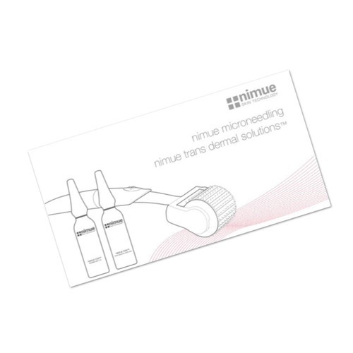 Nimue Microneedling Booklet X 1
