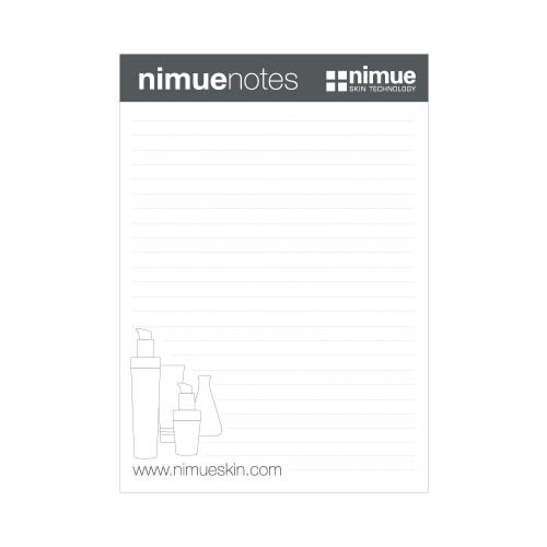 Nimue Promo - Nimue note pad