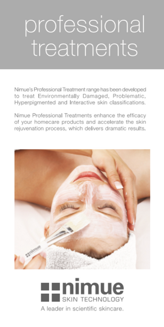 Nimue Info Cards Professional Treatments