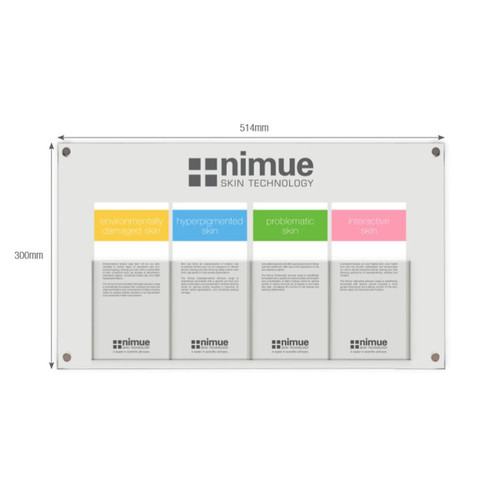 Nimue Wall Mounted Brochure Holder